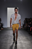 Parke Ronen - New York Fashion Week Stock Photography