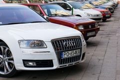 Parked Audi S6 Stock Photography