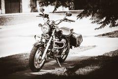 Parked bike Royalty Free Stock Photo