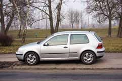 Parked car Stock Photo