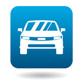 Parked car icon, simple style Stock Images