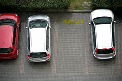Parked cars Stock Photography