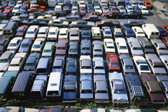 Parked Cars. New York City, New York Royalty Free Stock Images