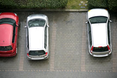 Parked cars Stock Photos