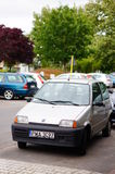 Parked Fiat Cinquecento Stock Photos