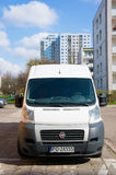Parked Fiat Ducato Stock Images