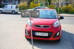 Parked Kia Picanto Stock Image