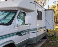 Parked Motorhome Royalty Free Stock Images