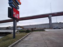 & x28;un-edited& x29; Interstate 45, Round Rock, Texas. stock photos