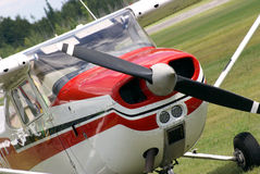 Parked Plane Royalty Free Stock Photography