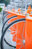 Public bicycle Royalty Free Stock Photography