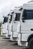 Parked trucks Royalty Free Stock Images