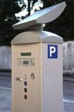 Parkeermeter stock foto's