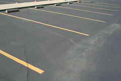 Parkeerplaatsen Stock Foto's