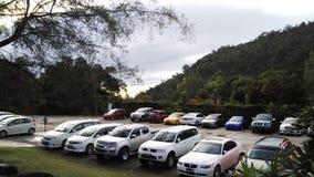 Parkeerterrein stock foto