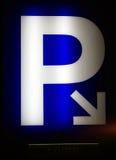 Parkeerterrein Royalty-vrije Stock Afbeelding