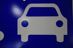 Parkeerterreinteken Stock Afbeeldingen