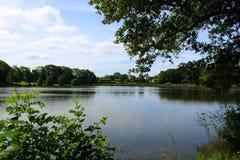 Parken en meren van Denemarken Royalty-vrije Stock Afbeelding