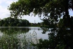 Parken en meren van Denemarken Stock Foto's