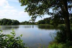 Parken en meren van Denemarken Stock Foto