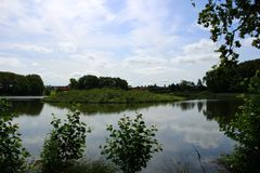Parken en meren van Denemarken Stock Afbeeldingen