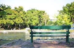 parken kopplar av Arkivfoton