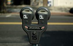 Parken-Messinstrument Stockfotografie