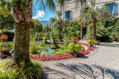 Parken Sie Garten von Insel Madre - Isola Madre, ist eine der Borromean-Inseln Lizenzfreie Stockfotografie