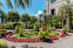 Parken Sie Garten von Insel Madre - Isola Madre, ist eine der Borromean-Inseln Lizenzfreies Stockfoto