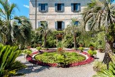 Parken Sie Garten von Insel Madre - Isola Madre, ist eine der Borromean-Inseln Stockbild