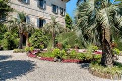 Parken Sie Garten von Insel Madre - Isola Madre, ist eine der Borromean-Inseln Stockfotografie