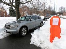 Parken Sie nicht hier Lizenzfreies Stockbild