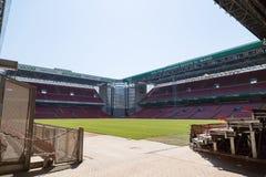 Parken-Stadion in Kopenhagen Stockfotografie