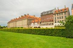 Parken van Kopenhagen. Denemarken Stock Foto's