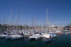 Parken von Booten Stockbilder