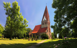 Parkentin parish church, Mecklenburg-Vorpommern, Germany Royalty Free Stock Photography