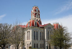 Parker county courthouse. Historic building Parker county courthouse, it was built in 1886, Texas USA Royalty Free Stock Images