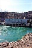 Parker Dam, Parker, Arizona, La Paz County, Stati Uniti fotografia stock