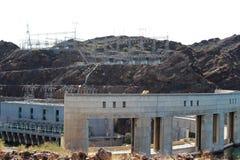 Parker Dam, Parker, Arizona, La Paz County, Vereinigte Staaten stockbild