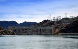 Parker Dam on the border of California and Arizona Royalty Free Stock Image