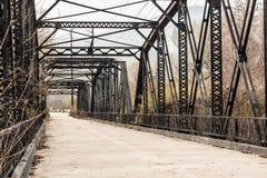 Parker Truss Bridge in San Diego, California Royalty Free Stock Photography