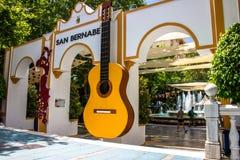 Parkera Alameda parkerar Marbella royaltyfri fotografi
