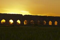 Parkera av akvedukterna Arkivfoton