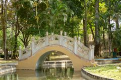 Parkera av det panamanska kinesiska kamratskapet royaltyfria bilder