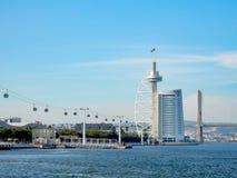 Parkera av nationer, i Lissabon royaltyfria bilder