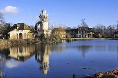 Parkera av slotten av Versailles Royaltyfri Foto