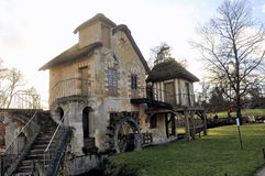 Parkera av slotten av Versailles Royaltyfria Bilder