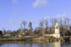 Parkera av slotten av Versailles Arkivbild