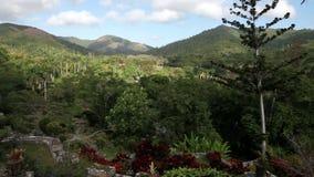 Parkera av Soroa (Jardin Botanico Orquideario Soroa arkivfilmer