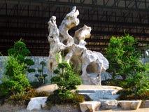 Parkera av stenar i Pattaya Royaltyfria Bilder